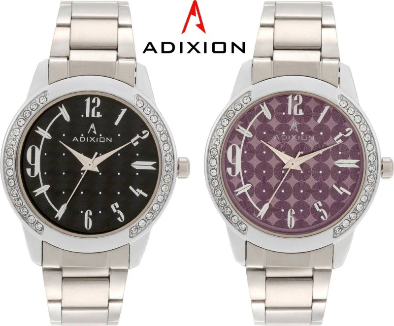 ADIXION 9406SM0107 New Stainless Steel Bracelet Watch Analog Watc