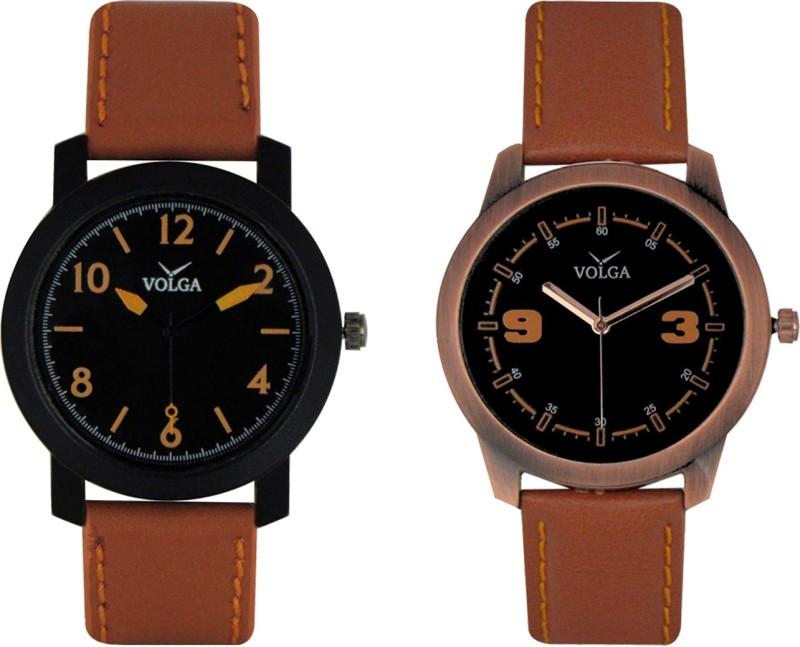 VOLGA Branded Leather Quality Designer Dial Diwali WATEN6XKA7NFAXCS