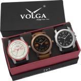 VOLGA VLW05-21-35-42 Mens Leather Belt C...
