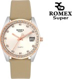 ROMEX STUDDED FOREVER LADY DATE Analog W...