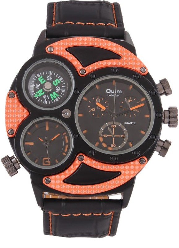 Oulm HP3594 1OR Analog Digital Watch For Men