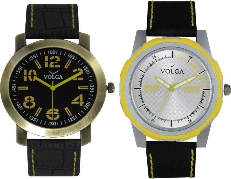 VOLGA Branded Leather Quality Designer Dial Diwali WATEN6XKWHEYHXT7