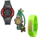 Sir Time Fresh Collection Analog-Digital...
