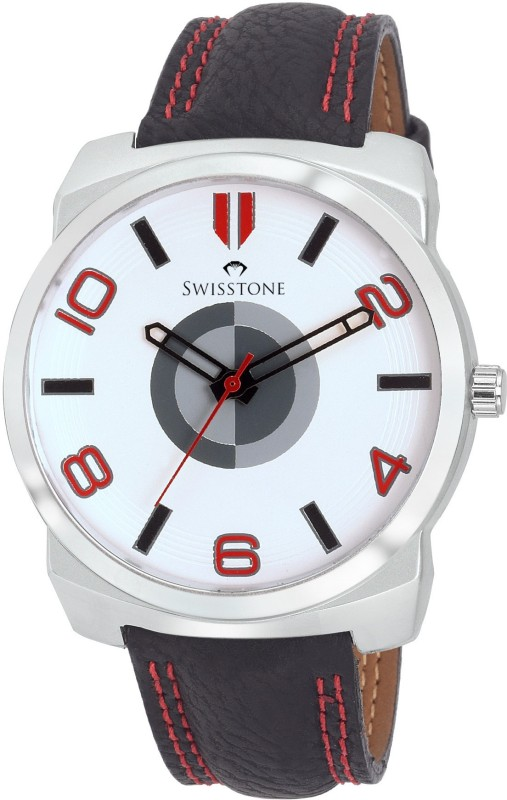 SWISSTONE FTREK028 WHT BLK Analog Watch For Men