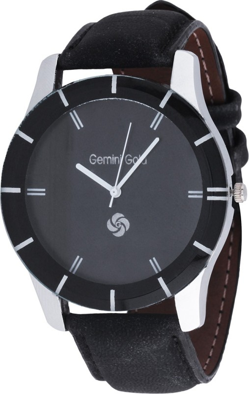 GEMINI GOLD GOLD 1204 Party Analog Watch For Men