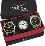 VOLGA VLW05-16-25-28 Mens Leather Belt C...