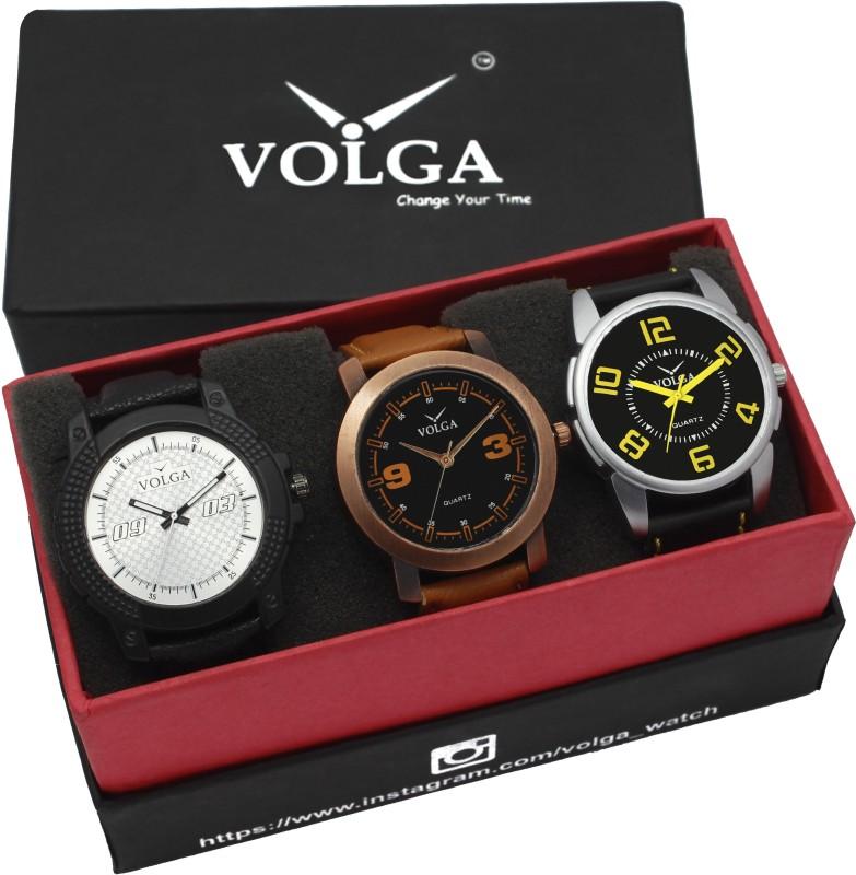 VOLGA VLW05 21 25 38 Mens Leather Belt Combo With Designer Stylis