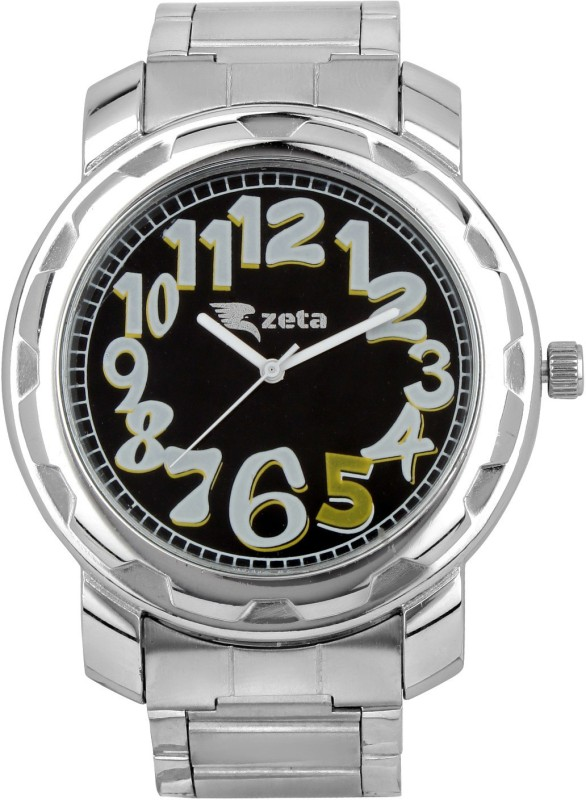 Zeta JER20719 New Stylish Steel Casual Analog Watch For Men