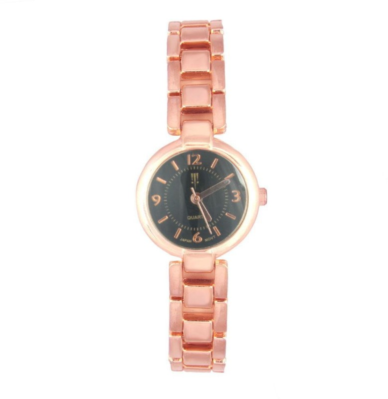 Tichino T17BLACKROSEGOLD WATCH Analog Watch For Women