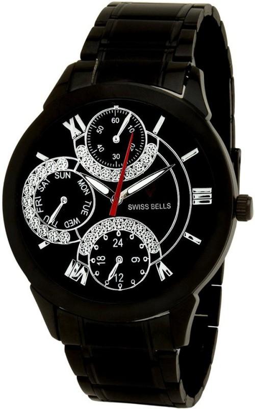 Svviss Bells TA 935BlkD Analog Watch For Men