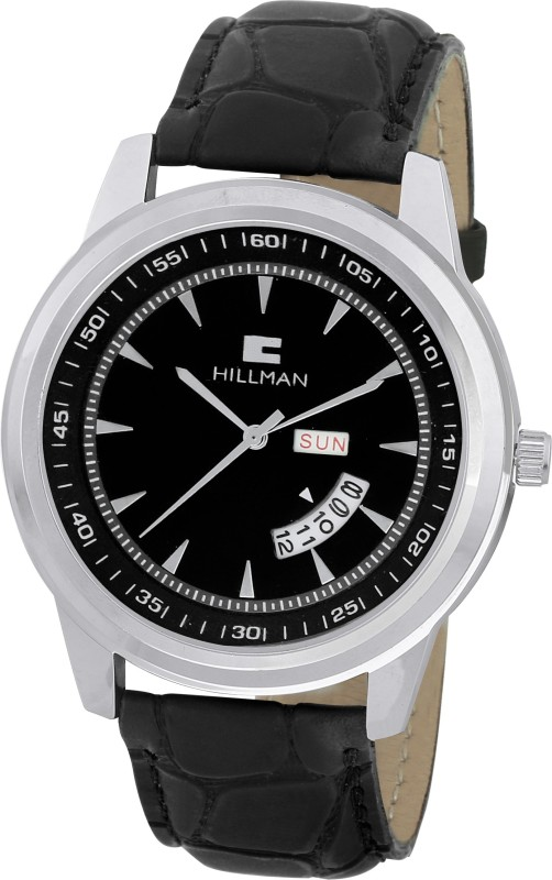 Hillman HIL4WACH34RD3BL New Style Analog Watch For Men