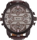 Oulm HP3233GUNBR Analog-Digital Watch  -...