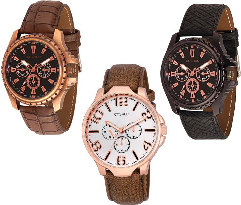 Casado 720nd137nd719 COMBO OF 3 HARMONY Analog Watch For Men