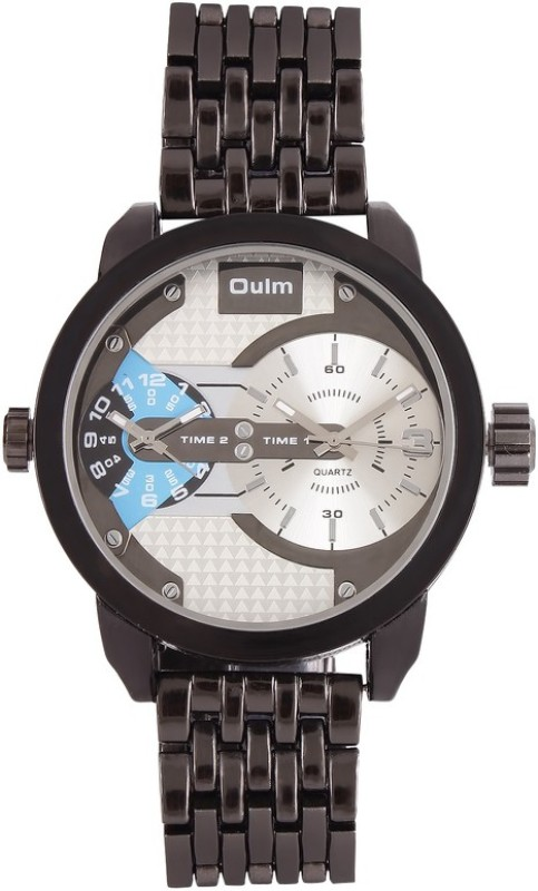 Oulm HT3221GUNWH Analog Digital Watch For Men