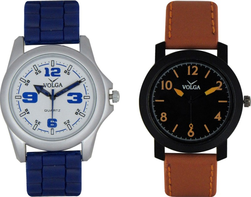 VOLGA Branded Leather Quality Designer Dial Diwali WATEN6XJBHBJEZE3