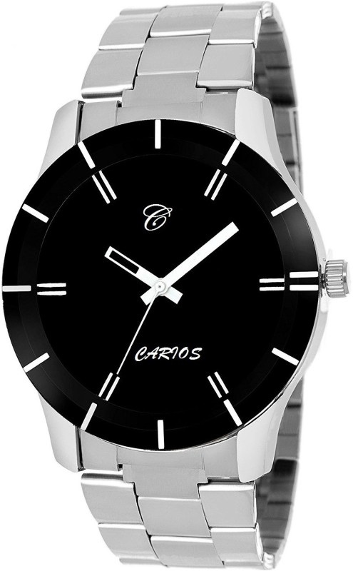 CARIOS CR1008 Quality Unique Hot Black Gents Elegant Dark Color E