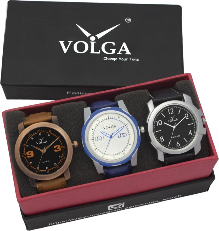 VOLGA VLW05 21 35 41 Mens Leather Belt Combo With Designer Stylis