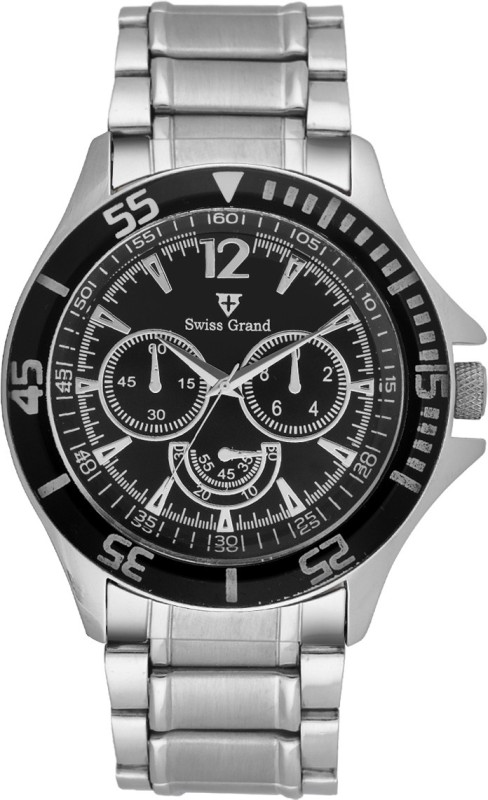 Swiss Grand Sg 0810black Grand Analog Watch For Men