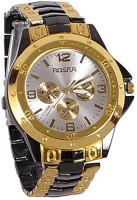 Rosra TM Gold Black 120 Analog Watch For Men