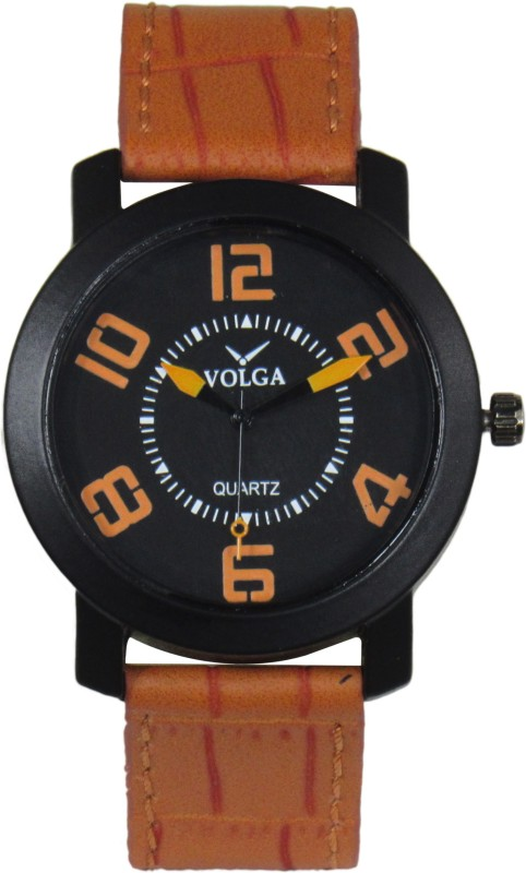 VOLGA Designer Fancy VOLGA0020 Sweep Second Analog Watch For M