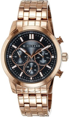 Giordano 1725-33 Blk Analog Watch - For Men