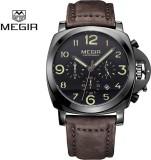 Megir Gmarks-3406-Black Dial Sports Anal...