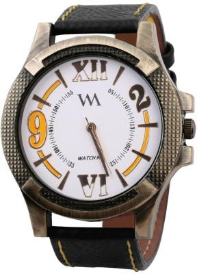 Watch Me WMAL-0063-Whitex Watches Analog Watch  - For Men