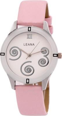Leana LWW151 Round Analog Watch  - For Women