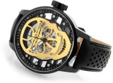 Invicta S1 Rally Skull Mechanical Skelet...