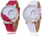 Mxre Red-White-88 Analog Watch  - For Wo...