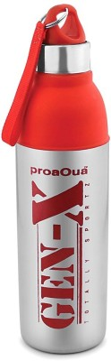 Taj ProaquaGen-X Medium Red Water Bottle With S.S Body(Hot &Cold) 700 ml Water Bottle(Set of 1, Red, Silver)