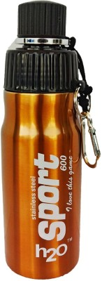 H2O Stainless Steel Sports (SB-105) 600 ml Water Bottle