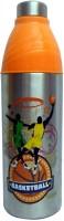 Milton Classic Series 750 ml Water Bottle(Set of 1, Silver & Orange)