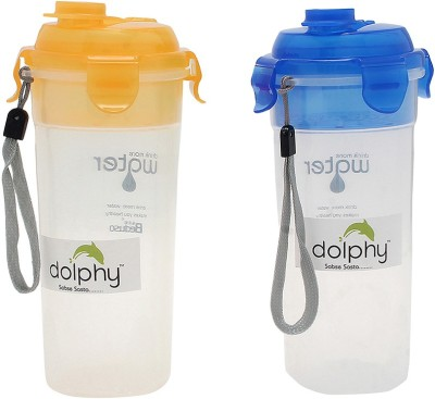 Dolphy Multicolor 500 ml Water Bottles