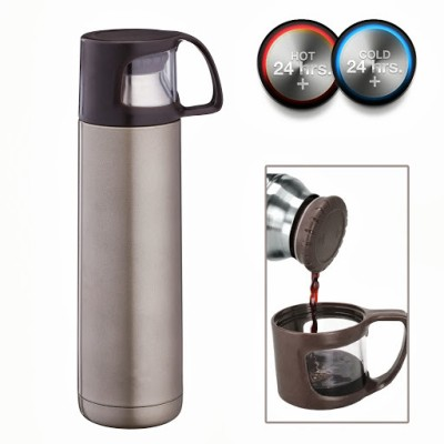 Hot Muggs Travel Mugs and Flasks 500 ml Water Bottle