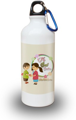 SKY TRENDS White Sipper 600 ml Water Bottle