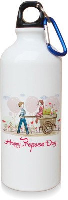 Sky Trends Gift Happy Promise Day Special Moments White Sipper Bottle 600 ml Water Bottle