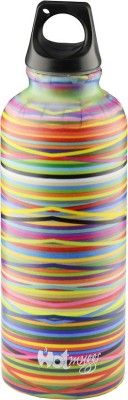 Hot Muggs Colors 380 ml Water Bottle(Set of 1, Multi-color)