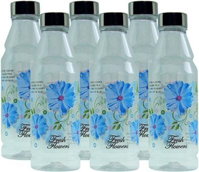 G-PET Fridge Rose with Steel Cap 1000 ml Water Bottles