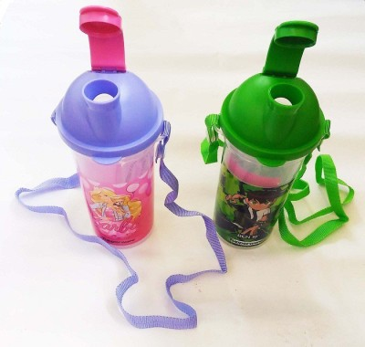 Tupperware Printed 400 ml Water Bottles