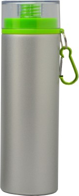 Omada Silver & Green Lid 800 ml Water Bottle