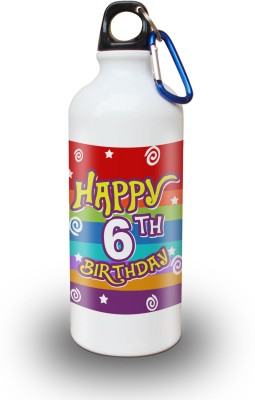 Sky Trends Gift 6th Happy Birthday 600 ml Water Bottle