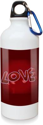 Sky Trends Gift Love Dark Moments White Sipper Bottle 600 ml Water Bottle