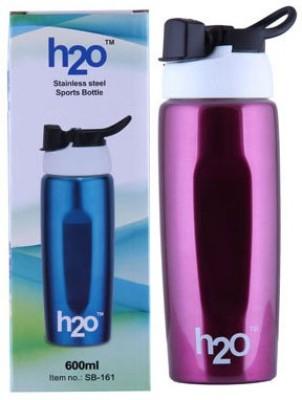 H2O Sports bottle 600 ml Water Bottle