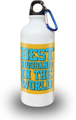 Sky Trends Gift Best Husband In The World Gifts For Husband Valentine 600 ml Water Bottle