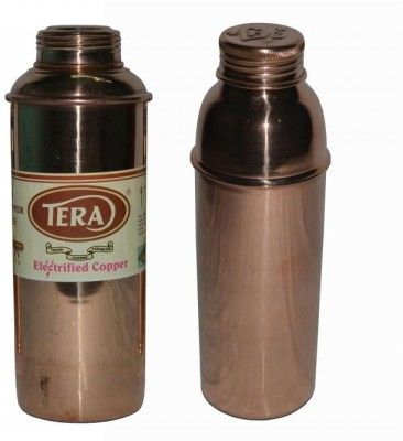 Tera India Copper 850 ml Water Bottles