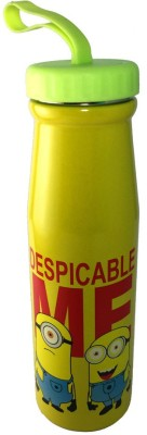 maxplanet Cartoon Character Steel Water Bottle with rubber grip on top 500 ml
