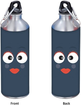 SKIN4GADGETS Smiles & Emotions 5 500 ml Designer Sipper 500 ml Water Bottle
