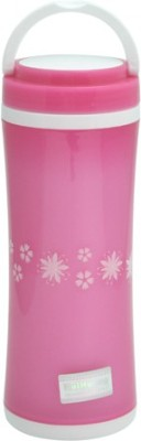 Easyhome Pink Classic Series Double Wall 350 ml Water Bottle