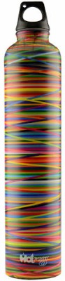 Hot Muggs Colors 640 ml Water Bottle(Set of 1, Multi-color)